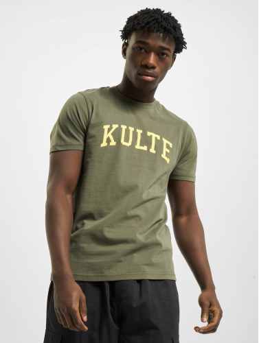 Kulte Herren T-Shirt Corpo College in khaki