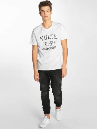 Kulte Herren T-Shirt Corpo College Champion in weiß