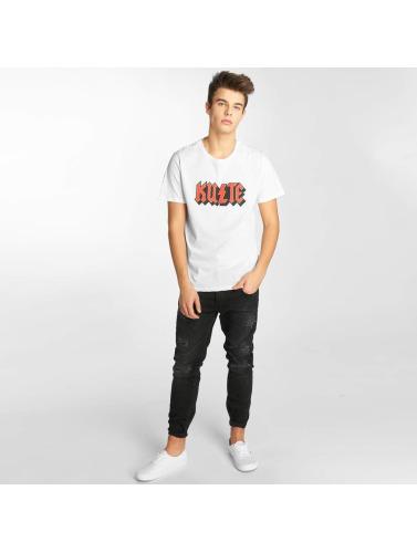 Kulte Herren T-Shirt Bolt in weiß