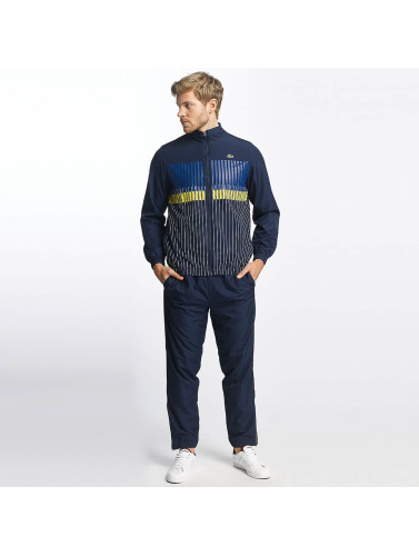 Lacoste Herren Anzug Stripes in blau