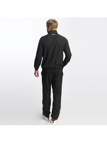 Lacoste Herren Anzug Stripes in schwarz