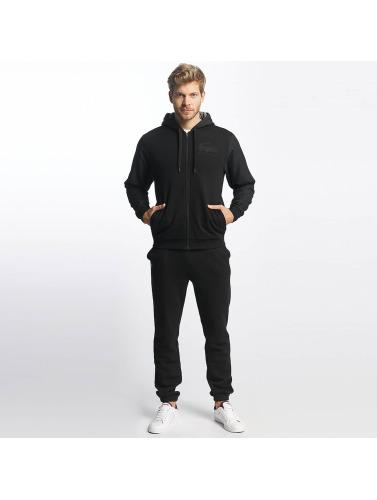 Lacoste Herren Anzug Fleece in schwarz