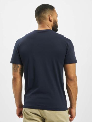 Lacoste Hombres Camiseta Classic in azul
