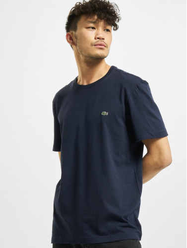 Lacoste Hombres Camiseta Basic in azul