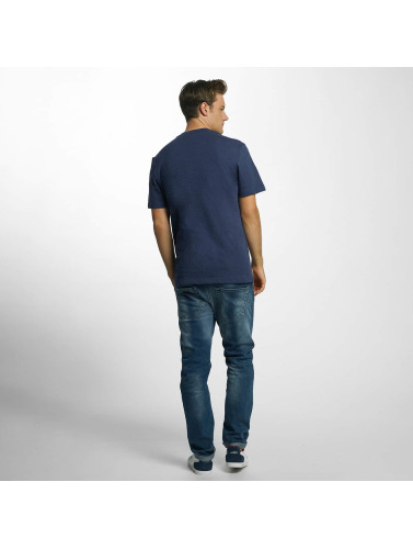 Lacoste Hombres Camiseta Original in azul
