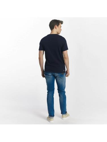 Lacoste Hombres Camiseta Kobe in azul