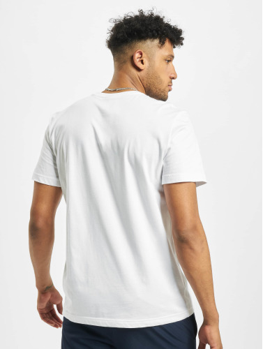 Lacoste Hombres Camiseta Basic in blanco