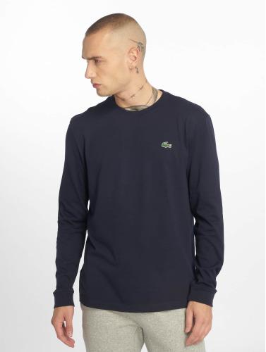 Lacoste Hombres Camiseta de manga larga Sport in azul
