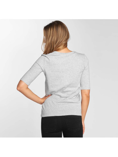 Lacoste Mujeres Camiseta Classic in gris