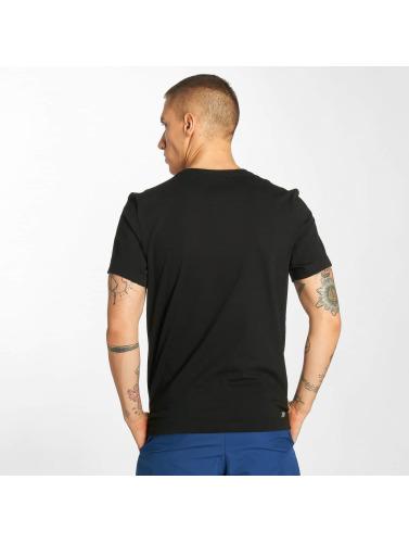 Lacoste Hombres Camiseta Classic in negro