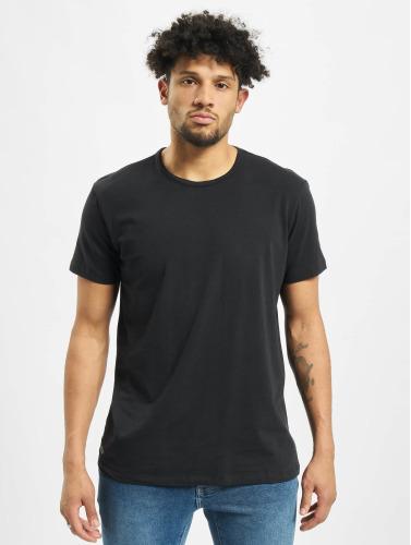 Lacoste Hombres Camiseta 2-Pack C/N in negro