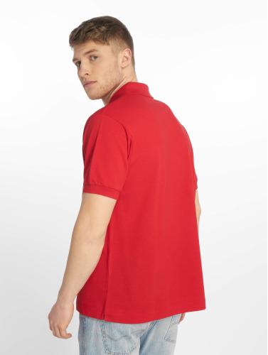 beste online klaring priser Lacoste Polo Shirt Grunnleggende Menn I Rødt TmCRR0w8SS