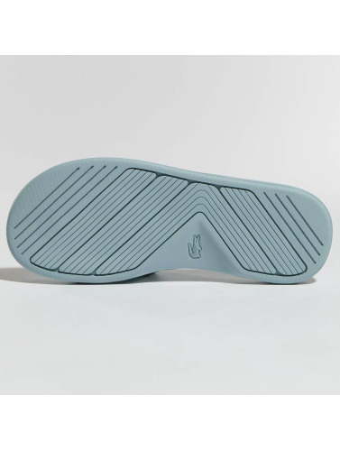 Lacoste Mujeres Chanclas / Sandalias L.30 Slide in azul