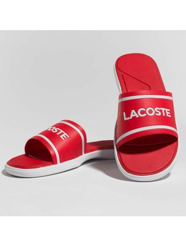 Lacoste Hombres Chanclas / Sandalias L.30 Slide in rojo