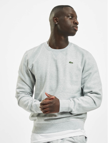 Lacoste Hombres Jersey Classic in gris