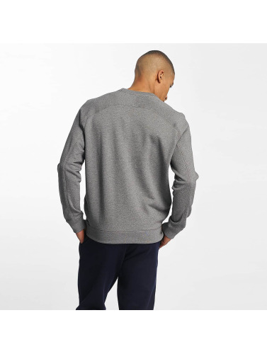 Lacoste Hombres Jersey Graphic Lines in gris
