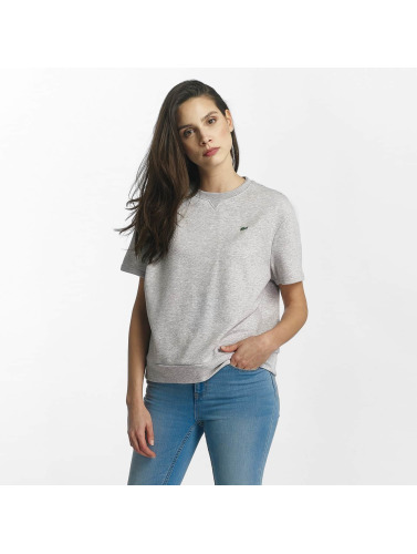 Lacoste Mujeres Jersey Classic in gris