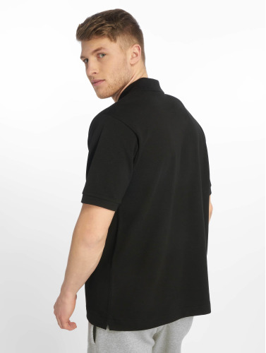 Lacoste Herren Poloshirt Basic in schwarz