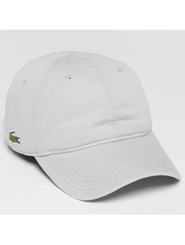 Lacoste Snapback Cap Classic in grau