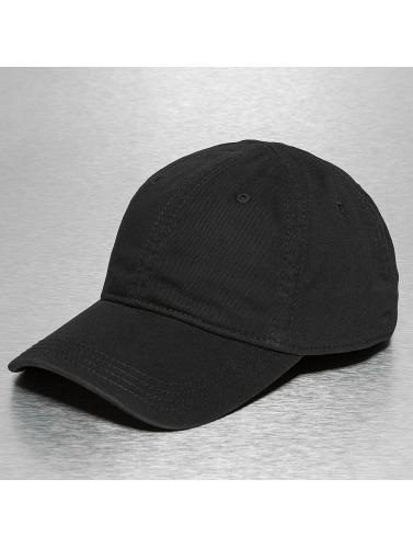 Lacoste Snapback Cap Gabardine Croc Strapback Cap in schwarz