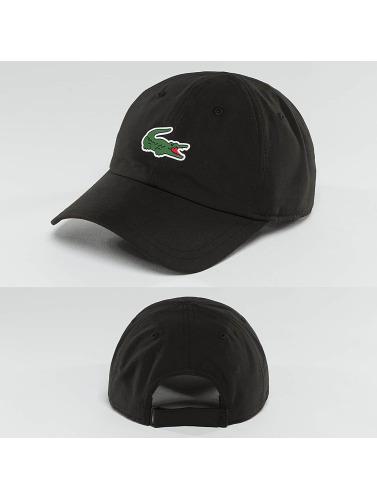 Lacoste Snapback Cap Logo in schwarz