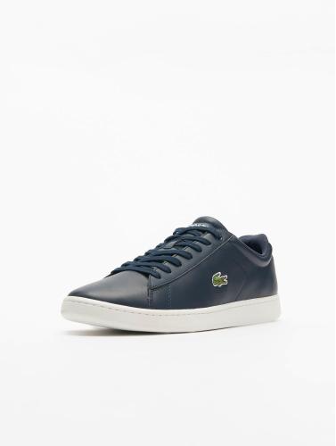 Lacoste Men Sneaker Carnaby Evo Bl In Blue