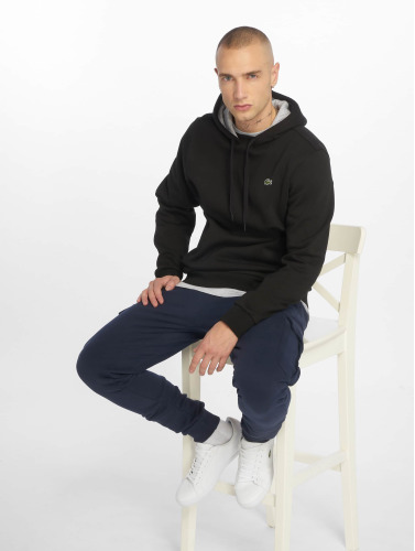 Lacoste Hombres Sudadera Basic in negro