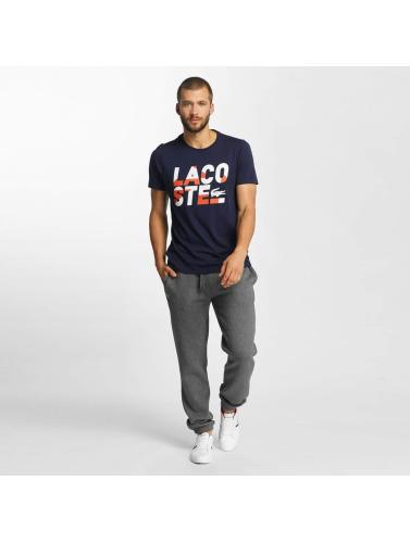 Lacoste Herren T-Shirt Kroko in blau