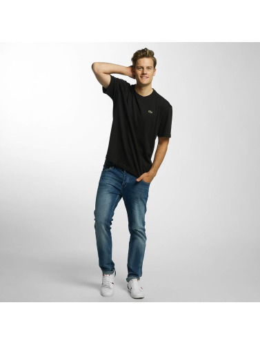 Lacoste Herren T-Shirt Sport in schwarz