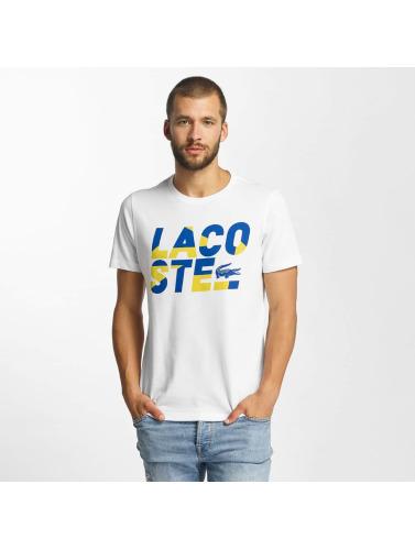 Lacoste Herren T-Shirt Kroko in weiß