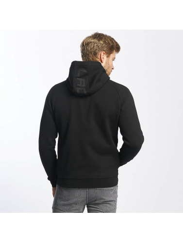 Lacoste Herren Zip Hoodie Fleece in schwarz