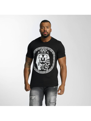 Last Kings Hombres Camiseta Skull in negro