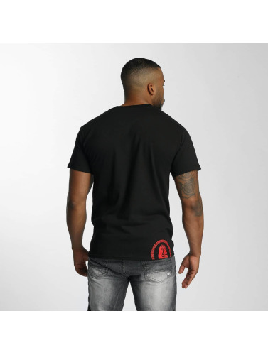 Last Kings Hombres Camiseta Splurge in negro