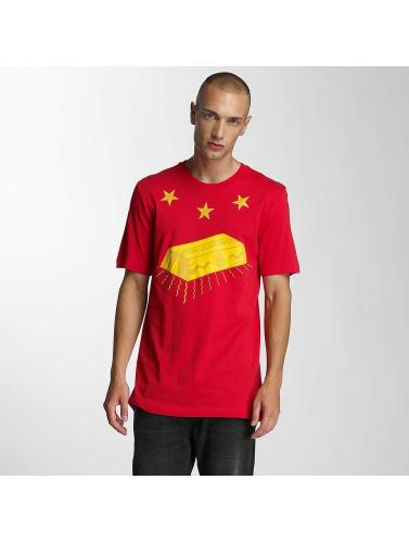 klassiker for salg lav pris salg Siste Konger Hombres Camiseta Kongen Meg I Rojo vs1rPp4
