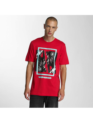 Last Kings Hombres Camiseta Double Up in rojo