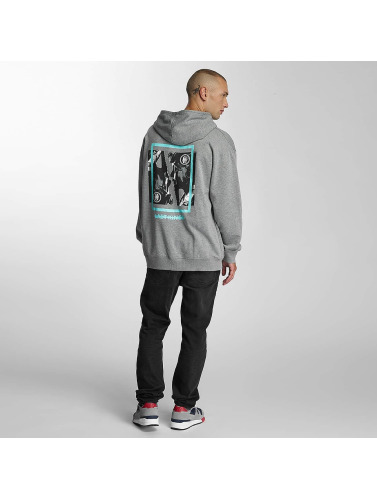 Last Kings Herren Hoody Double Face in grau