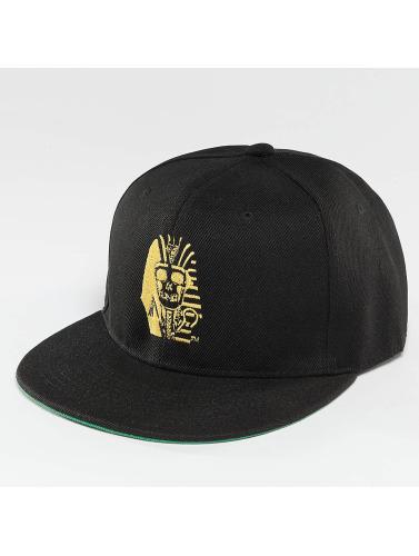 Last Kings Snapback Cap Pharaoh Skull in schwarz