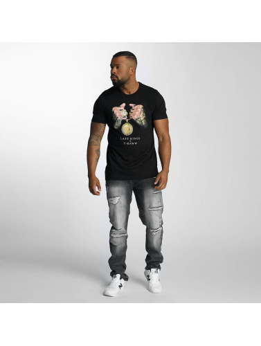 Last Kings Herren T-Shirt LK Rep in schwarz