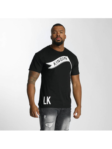 Last Kings Herren T-Shirt Flag in schwarz