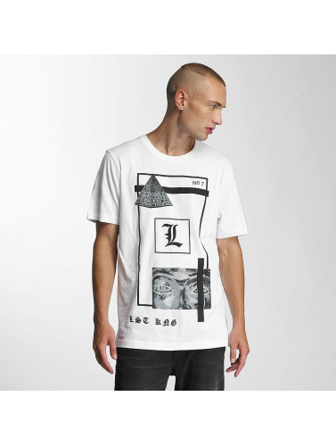 Last Kings Herren T-Shirt Clarity in weiß