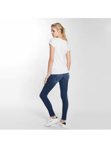 Le Temps Des Cerises Mujeres Camiseta Roselips in blanco
