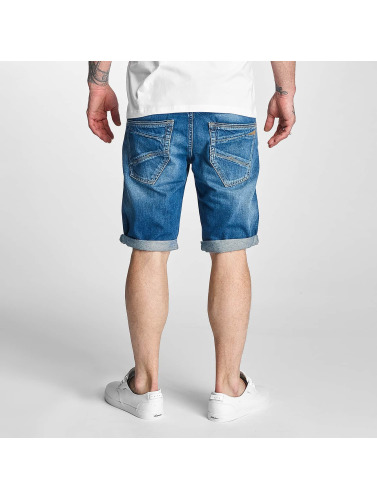 Le Temps Des Cerises Herren Shorts Texas in blau