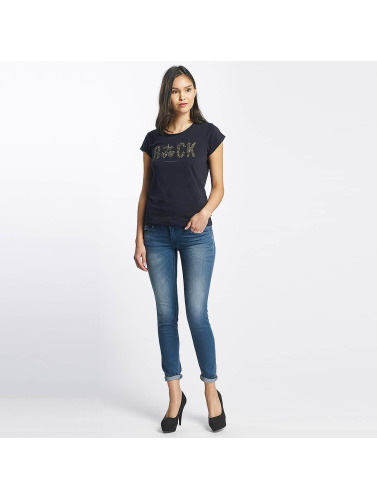 Le Temps Des Cerises Damen Slim Fit Jeans Pulp Slim Fit in blau