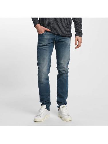 Le Temps Des Cerises Herren Slim Fit Jeans Cerises 711 in blau