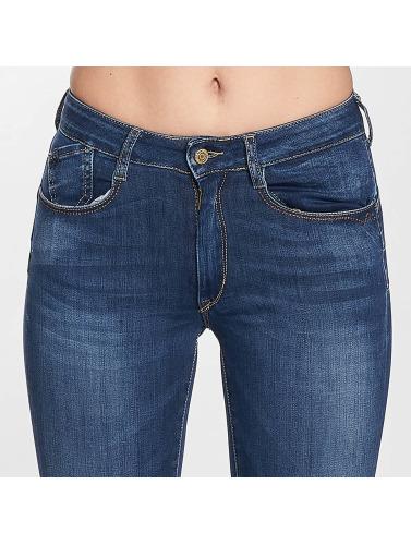Le Temps Des Cerises Damen Slim Fit Jeans Pulp in blau