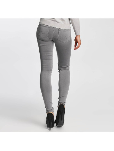 Le Temps Des Cerises Damen Slim Fit Jeans Ultrapower in grau