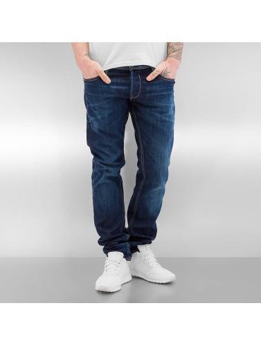 Le Temps Des Cerises Herren Straight Fit Jeans 711 Basic in blau