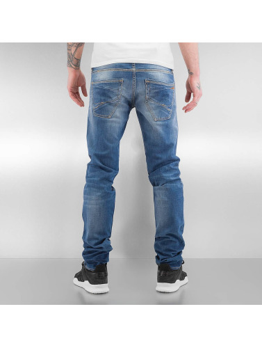 Le Temps Des Cerises Herren Straight Fit Jeans 711 Basic in blau
