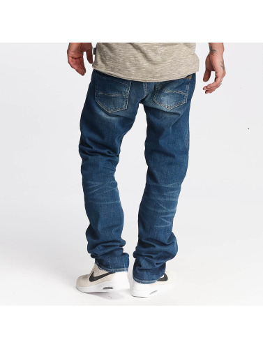 Le Temps Des Cerises Herren Straight Fit Jeans 812 Basic in blau