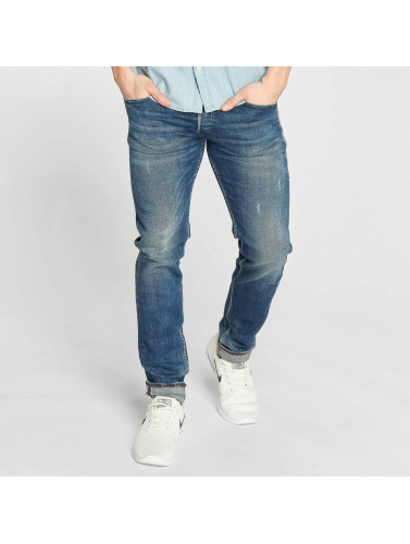 Le Temps Des Cerises Herren Straight Fit Jeans 700/11 in blau